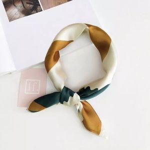 1 left ✨ Multicolor silky satin-like scarf